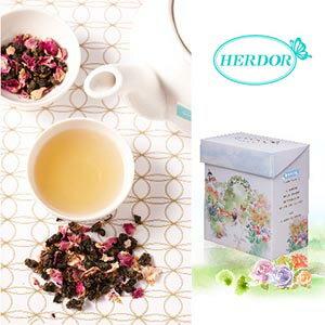 玫瑰烏龍茶|輕舞凡爾賽/三角茶包/隨身分享包/盒裝花茶
