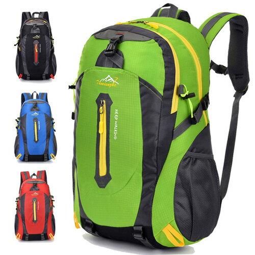 後背包行李箱書包運動背包 優質首選多色大容量登山旅遊雙肩後背包艾爾莎【TBB6842】 1