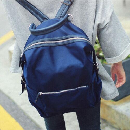後背包書包 學院風大容量旅行雙肩後背包 艾爾莎【TBB6847】 1
