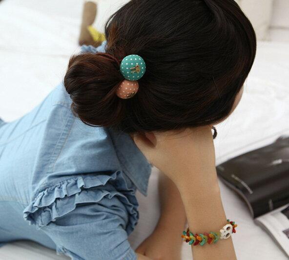 髮飾飾品 多款蘑菇點點兔子皮筋髮圈髮束 艾爾莎【TOY2260】 2