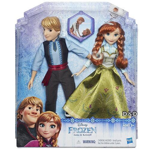 ~ Disney 迪士尼 ~冰雪奇緣人物角色 2 入組 ~ 安娜與阿克