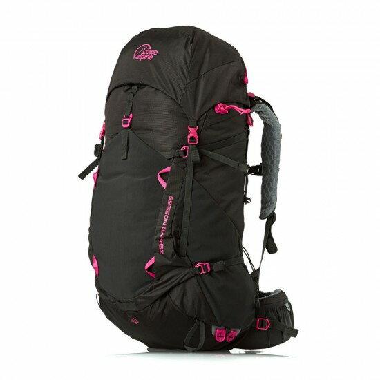 【鄉野情戶外專業】 Lowe Alpine  英國   Zephyr ND55:65背包登山健行背包健行 百岳 出國 打工 自助旅行-黑 女款_FMP-50