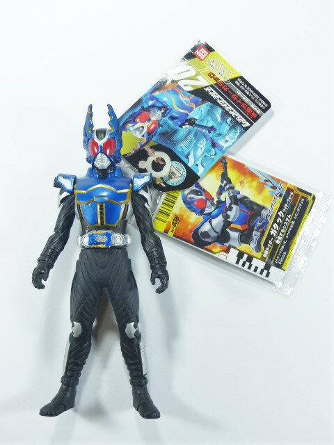 【秋葉園 AKIBA】假面騎士Gatack 騎士形態 軟膠公仔 假面騎士大亂鬥 特別卡 T-038付属 1