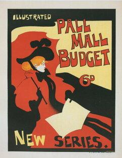 Pall Mall Budget 雜誌 (含框)