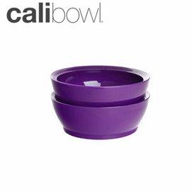 兒童餐具-Baby Joy World-【美國 Calibowl】專利防漏防滑幼兒學習吸盤碗 12oz 2入裝-紫色