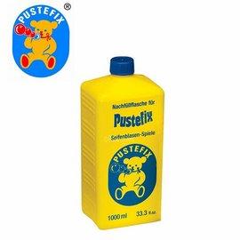 【德國Pustefix】神奇魔力泡泡水大型補充液 1000ml (單瓶)