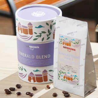 伯朗碧綠綜合咖啡豆(110公克裝)