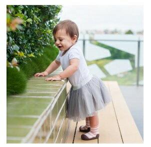 【本月特價$599】韓國【Attipas】快樂腳襪型學步鞋-花香藍 3