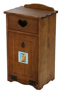 【尚品傢俱】443-06 磁磚 實木實用垃圾桶/美化桶/廚餘桶/Trash Can/Garbage Cabinet