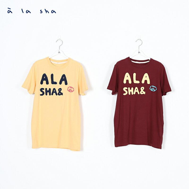 a la sha ALA圖案圓領短袖T (男) 2