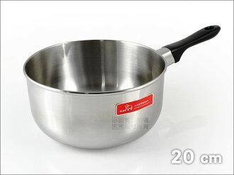 快樂屋♪ 牛頭牌 Buffalo 正304# 小牛雪平鍋 20cm 適用電磁爐(牛奶鍋.湯鍋.片手鍋.不鏽鋼鍋.快煮鍋)