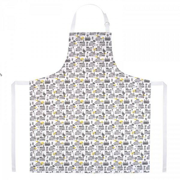 《法國 La Cocotte Paris》廚房的美好時光圍裙 All over Paris 1