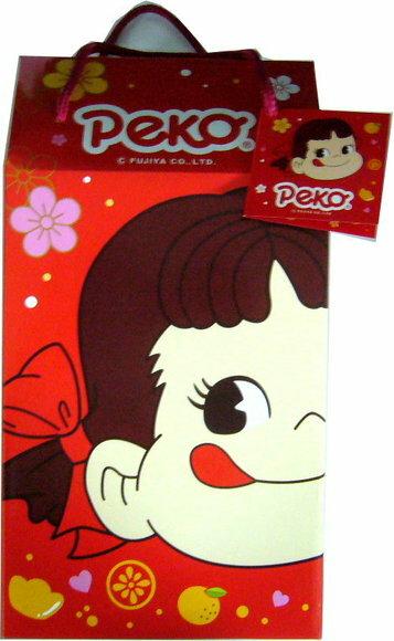 有樂町進口食品 日本進口 年節禮盒 不二家綜合牛奶糖提籃禮盒 4902555118673 0