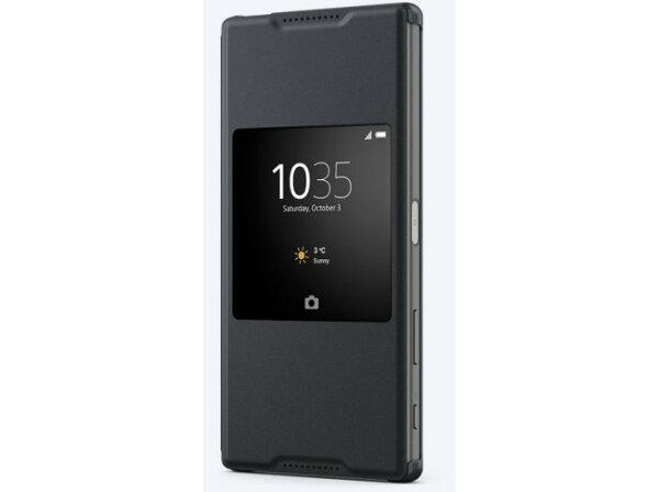 原廠皮套 SCR46 Sony Z5 Premium 側掀皮套/手機殼/保護套/手機套/視窗皮套/側翻套【馬尼行動通訊】