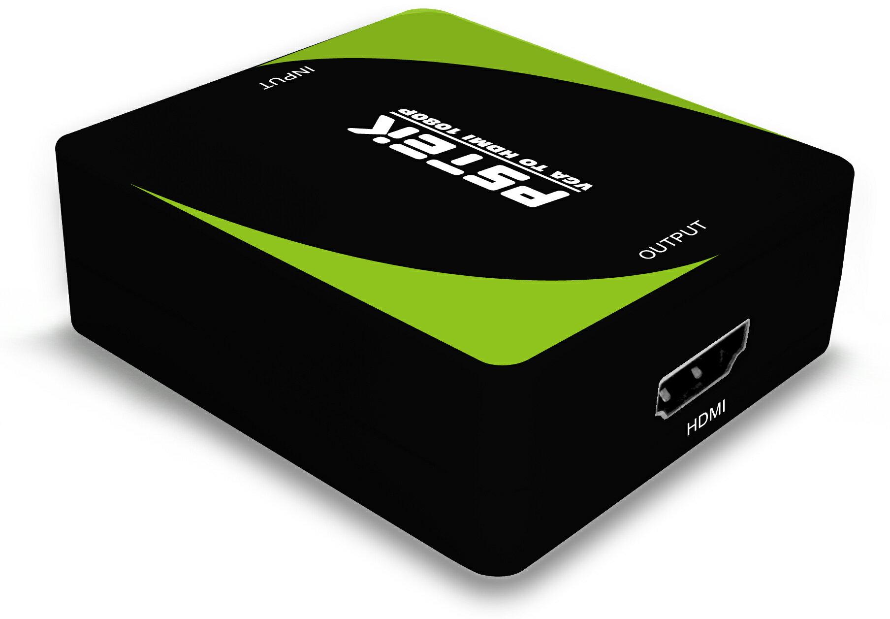 AviewS-VGA+AUDIO轉HDMI轉換器/定頻輸出/PSTEK HDC-VAH1 0