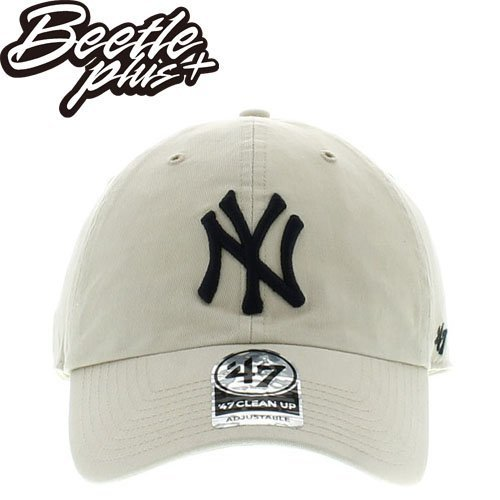 BEETLE 47 BRAND 老帽 紐約 洋基 NEW YORK YANKEES DAD HAT 大聯盟 卡其 深藍 MN-387 0