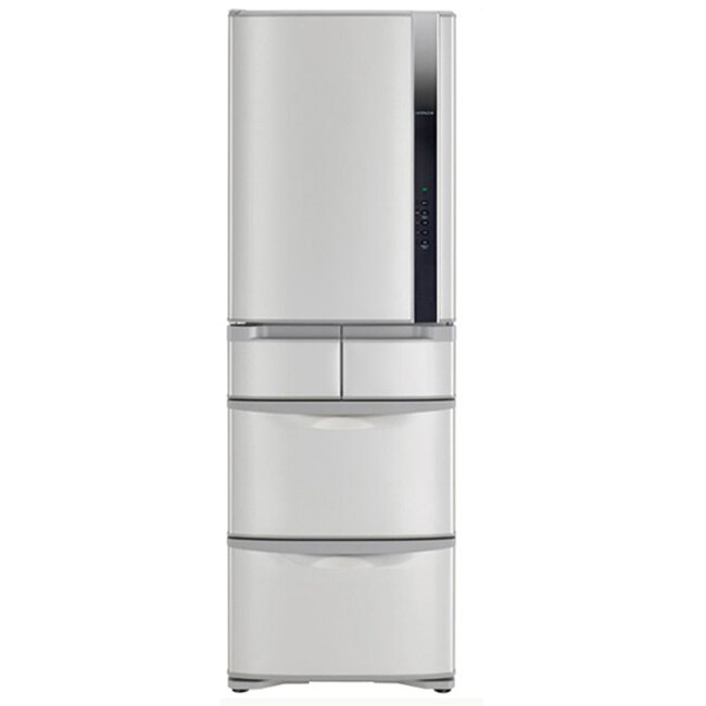~日立HITACHI~ 變頻420L~左開五門電冰箱~星燦不鏽鋼^(RS42FJL/RS4