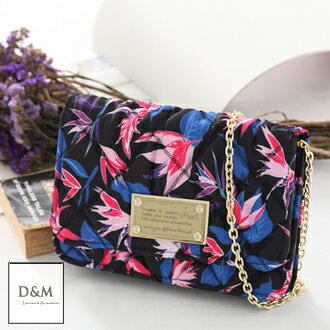 D&M SHOP曼谷設計師品牌POSH金鍊鐵牌側肩晚宴包/手拿包/方包【K00018】