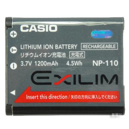 卡西歐 CASIO NP-110 NP110 原廠電池EX-Z2000 Z2200 Z2300 【ACSAA7】