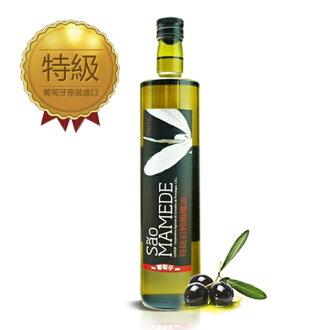 葡萄牙 SaoMamede 特級冷壓初榨黑橄欖油 Extra virgin Olive Oil 750mL (1入) 禮盒 / SGS檢驗合格