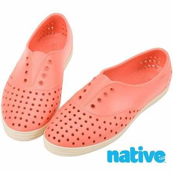 零碼特價!!NATIVE SHOES -Jericho 編號2-Canatlupe Pink(674)