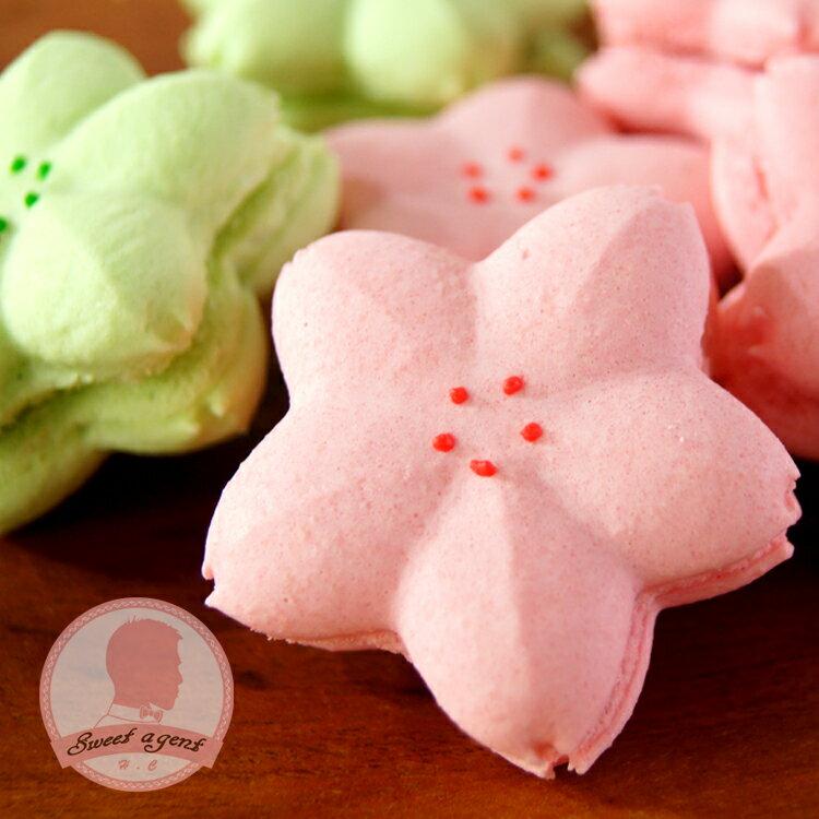 【甜點特務】[ 櫻花馬卡龍 ] 5入組合,法式覆盆子、日式抹茶+白巧克力 比一般大顆喔!!!! 約5公分喔。 0