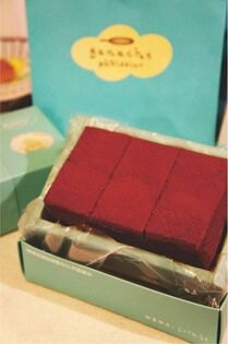 【格那修 ganache】6入生巧克力蛋糕★使用72%巧克力以及牧場新鮮雞蛋和  來自日本的麵粉★這是72%的魔力