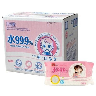 ★SuperSale 12/08(四)15:00整點開賣★「LEC」日本製LEC濕紙巾 / 藍色一般款 / 粉色口鼻專用款 1