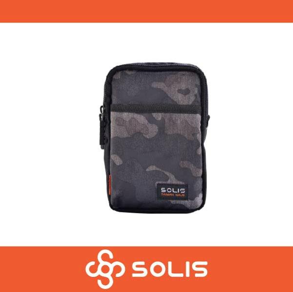萬特戶外運動 SOLIS B07008 狩獵迷彩系列多功能萬用包 側背包 腰包 防潑水 灰色