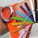 一拍即戴!! 一拍二捲就OK 指針式 拍拍錶 卷尺錶 運動手錶 矽膠腕錶