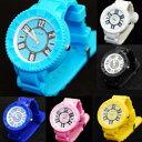 6色可選 指針式 運動手錶 腕錶 男女都適宜 時尚錶款