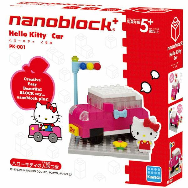 Hello Kitty 河田積木 小車篇 KAWADA nanoblock 日本帶回