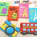 彩色創意行李吊牌 韓版飾品卡通安全防混行李吊牌 便攜旅行箱行李牌