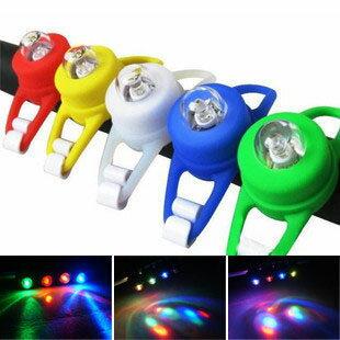 多彩 青蛙燈/尾燈/矽膠燈/警示燈/最新款戒指燈/前燈/單色燈 自行車警示燈