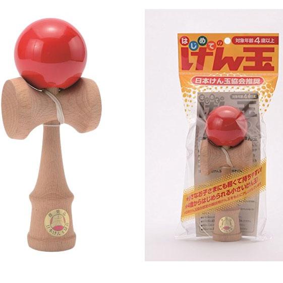天然木劍玉, 初學者設計, 日本劍玉協會推薦, 日本帶回