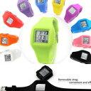 男女皆適 電子錶 糖果色 果凍表 多功能運動手錶 矽膠表腕表 多色可選