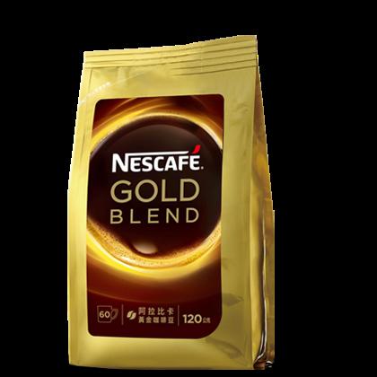 雀巢金牌微研磨咖啡補充包 (120g)
