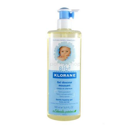 Klorane 蔻蘿蘭寶寶洗髮沐浴精 500 ML 含壓頭【巴黎好購】