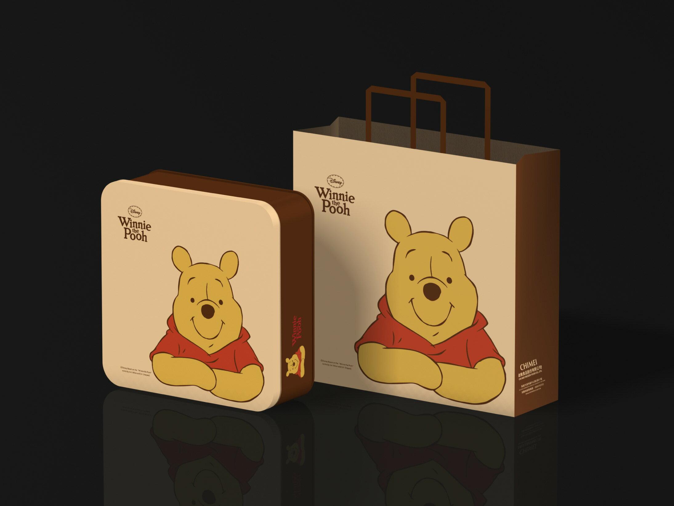 【奇美伴手禮盒】小熊維尼芒果酥禮盒 0