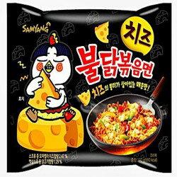 有樂町進口食品 韓流來襲 三養 起士辣炒雞肉麵 單包 140g K32 8801073141735 0