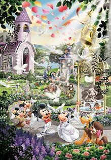 【進口拼圖】迪士尼 DISNEY-史迪奇世界婚禮 雷射拼圖 108片 D-108-733