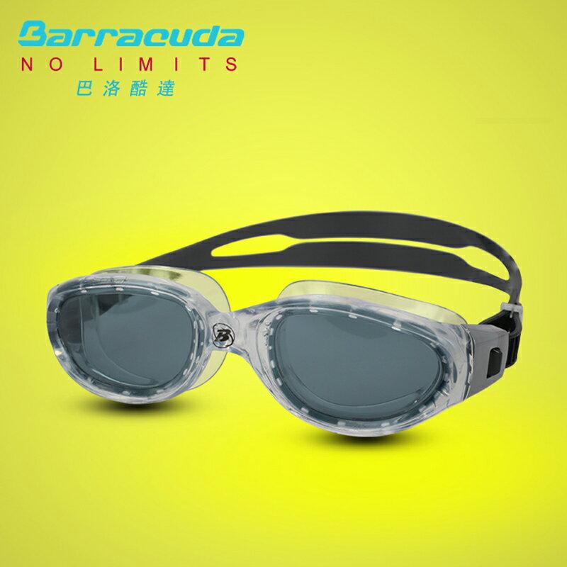 美國巴洛酷達Barracuda成人飆速競泳系列抗UV防霧泳鏡-MANTA#13520 0