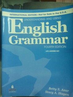 【書寶二手書T1/語言學習_ZHZ】Underst. using eng grammar 4/e_附光碟