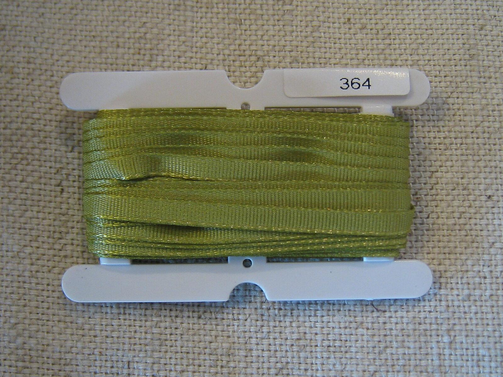 Petals緞帶刺繡- 橫紋帶 3.5mm (十九色) 1