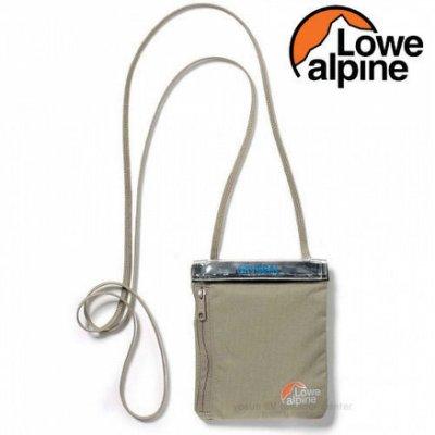 《台南悠活運動家》Lowe Alpine 英國 TT Dryzone掛頸護照包 棕灰 FAC23