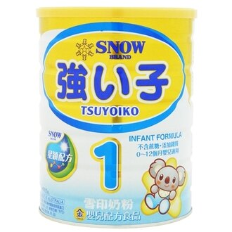 『121婦嬰用品』雪印金強子嬰兒1號900g(6罐組,再送1罐) 0