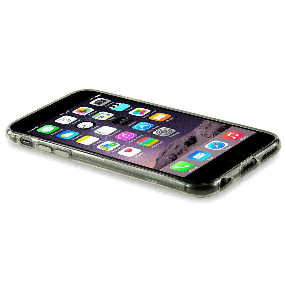 FUNDA NEGRA DE GEL TPU SILICONA FLEXIBLE PARA IPHONE 6 1
