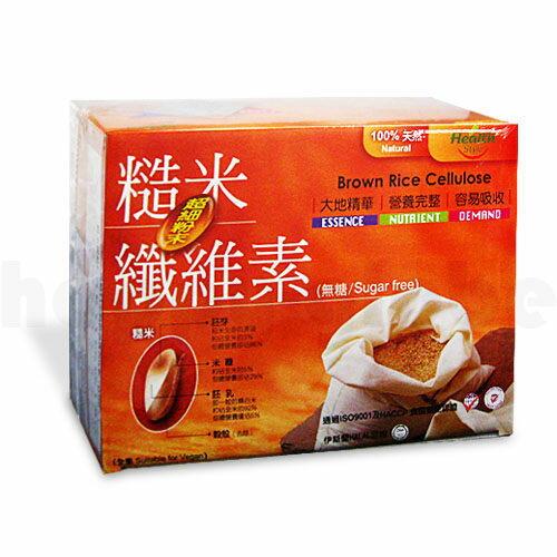 健康時代 糙米纖維素超細粉末 10gx36包/盒