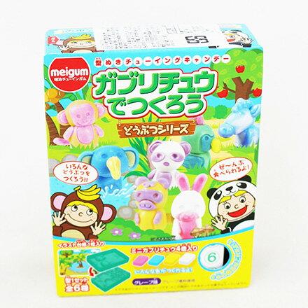 [敵富朗超市]meigum手作動物園造型軟糖(19.2g) - 限時優惠好康折扣