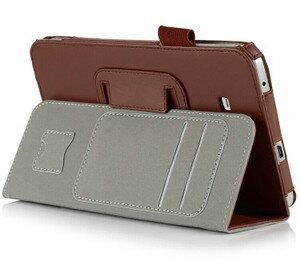 三星Galaxy Tab3 Lite 7保護套 文逸手托插卡平板皮套 T110 T111保護皮套【預購】